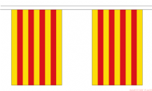 CATALONIA BUNTING - 3 METRES 10 FLAGS